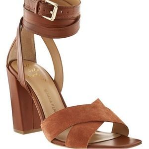 Banana republic Pella heeled sandals size 6